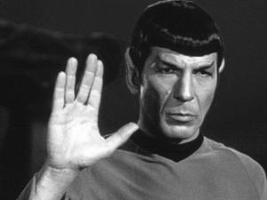 """""""Rasyonel Adam"""" ikonu Mr. Spock"""